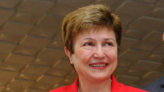 Кристалина Георгиева: Глобалната икономика ще се свие с 4,4% през 2020 г.