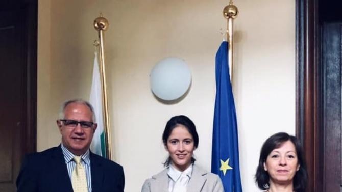 Посланикът ни в Брюксел Пламен Бончев се срещна с капитана