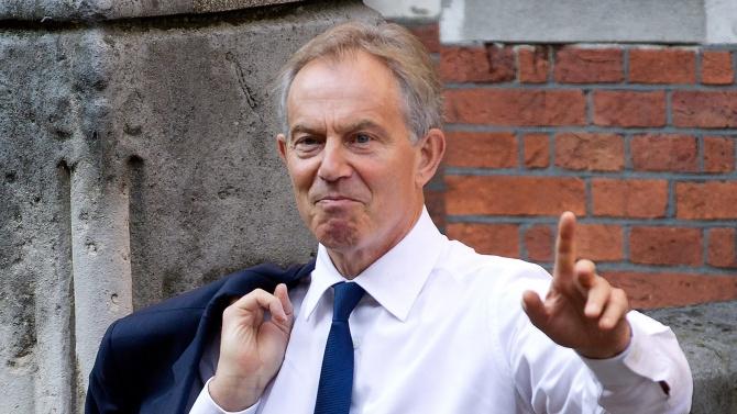 Бившият британски премиер Тони Блеър нарушил карантината си