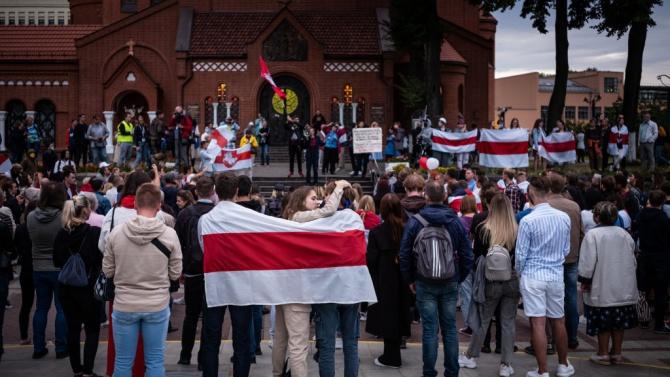 Над 200 задържани по време на протестите в Беларус