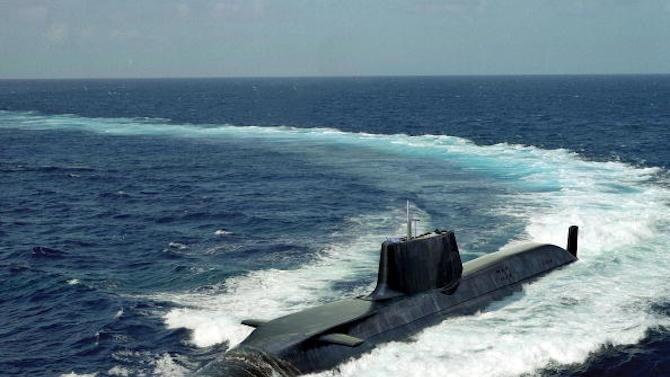 """Куриозна случка на подводницата от Кралския флот """"Бдителна"""" (Vigilant), обезпечаваща"""
