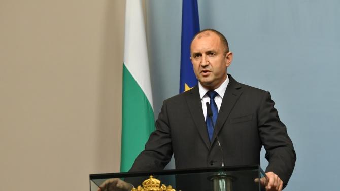 Румен Радев ще разговаря с естонската си колега Керсти Калюлайд в Талин