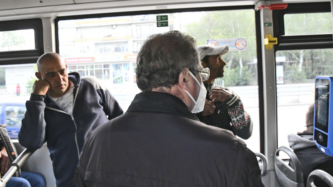 Полицията в Пловдив е проверила над 580 автобуса за спазване на епидемичните мерки