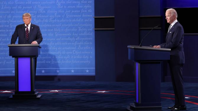 Процедурни промени във финалния дебат между Тръмп и Байдън