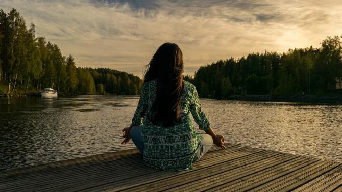 Благословен ден, носещ аура на спокойствие и равновесие