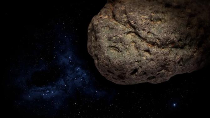 НАСА взе проба от астероида Бену