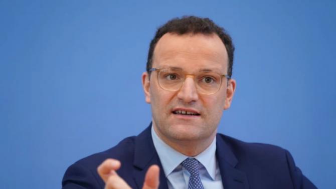 Германският здравен министър Йенс Шпан е дал положителна проба за