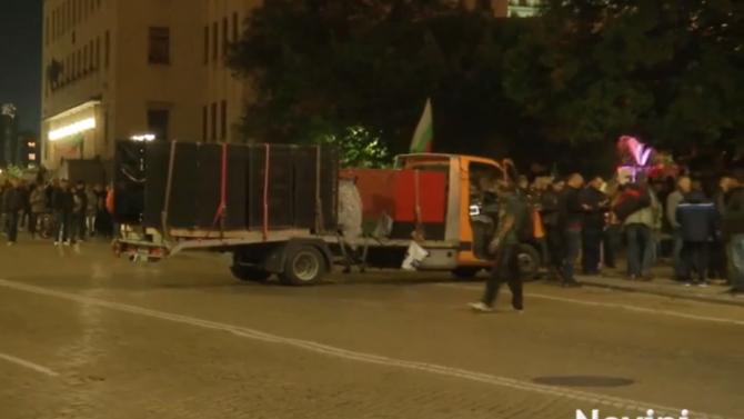 105-и ден на протести в София