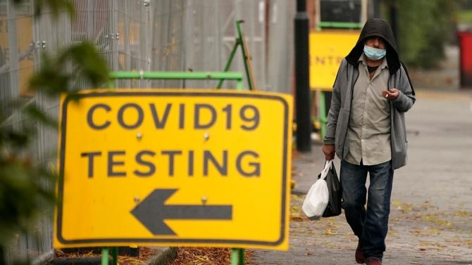 Близо 27 000 нови случая на COVID-19 са регистрирани във Великобритания