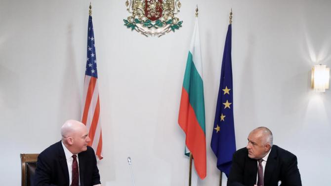 Борисов пред Кларк Купър: Благодарни сме за последователната подкрепа на САЩ за модернизацията на въоръжени ни сили