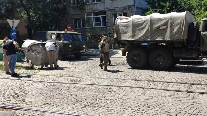 """Намерени са боеприпаси в ромския квартал """"Изток"""" в Кюстендил"""