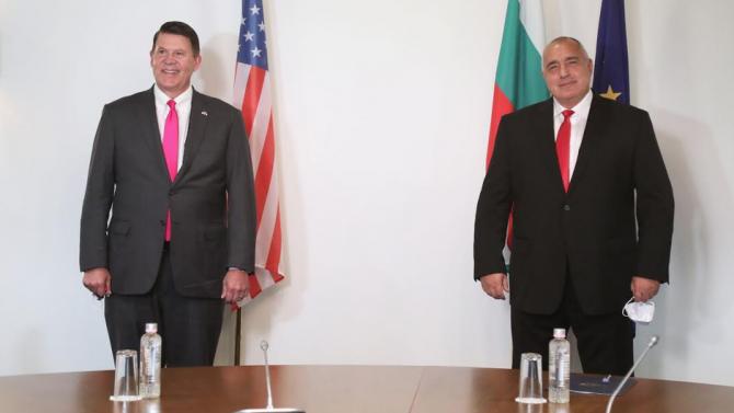 Борисов категоричен: САЩ са важен стратегически партньор на България в областта на енергетиката