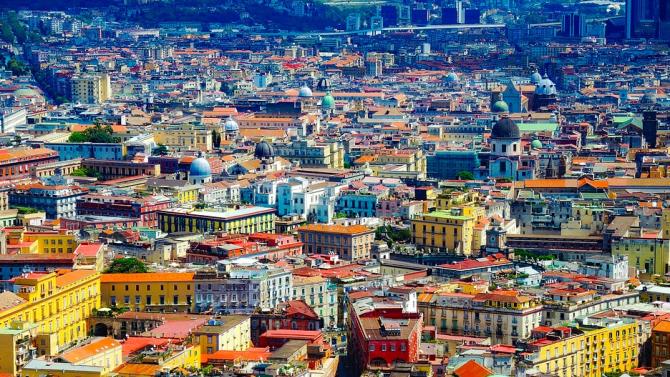 Протестна акция против ограниченията имаше в италианския град Неапол