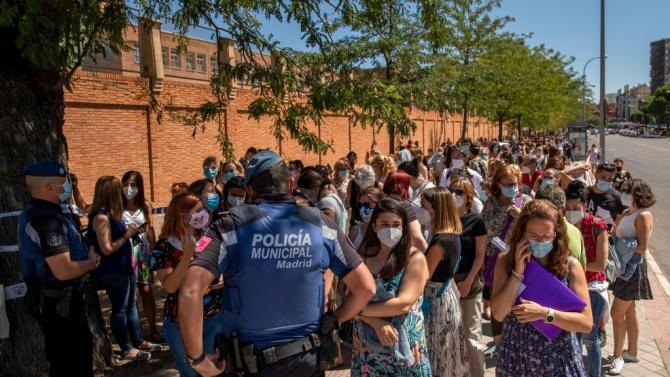 Региони в Испания искат Мадрид да обяви извънредно положение, за да налагат свои мерки срещу коронавируса