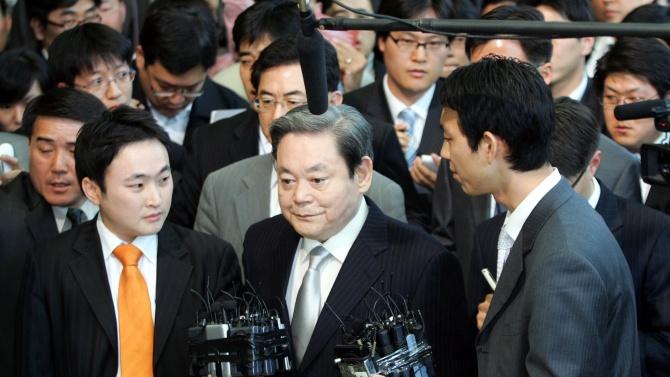 """Почина президентът на южнокорейската компания """"Самсунг"""""""