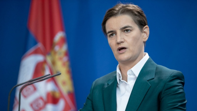 Мандатоносителят Ана Бърнабич съобщи днес имената на министрите в новото