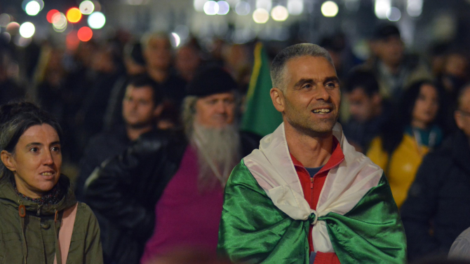 109-и ден на протести в София