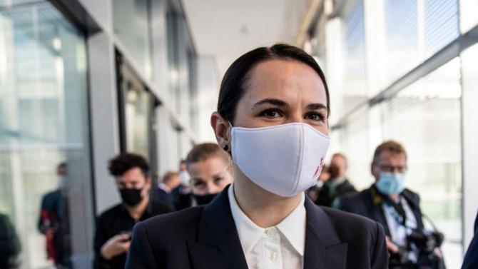 Светлана Тихановска, която е начело на беларуската опозиция, призова тази