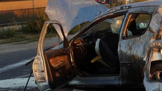 Мъж и дете загинаха при тежка катастрофа край Алфатар