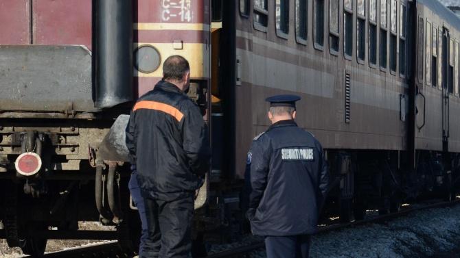 Влак премаза жена край жп гара Плевен