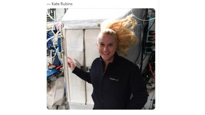 Астронавт гласува за президент на САЩ от Международната космическа станция