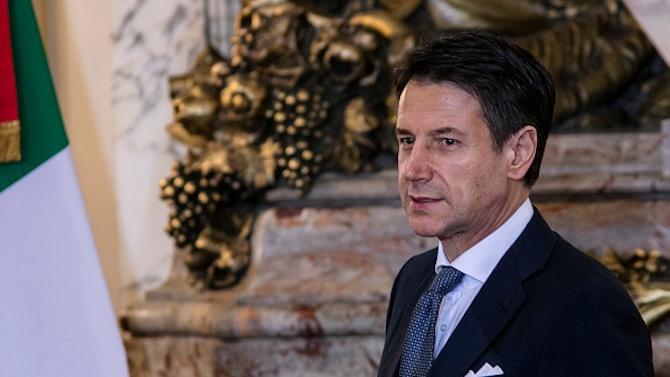 """Италианският премиер Джузепе Конте осъди """"недопустимите думи"""" на турския президент"""
