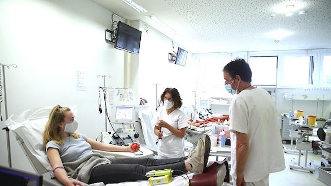 Стартира кампания за даряване на кръвна плазма за лечение на COVID-19