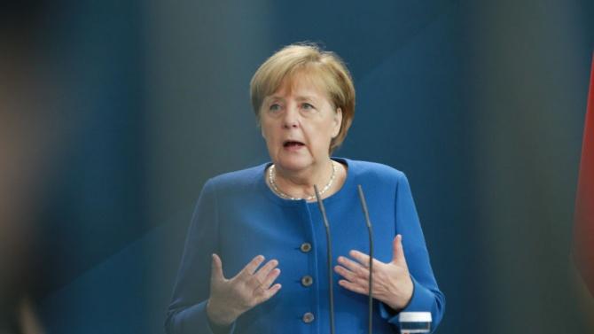 Германският канцлер изрази недоволството си от факта, че федералната република