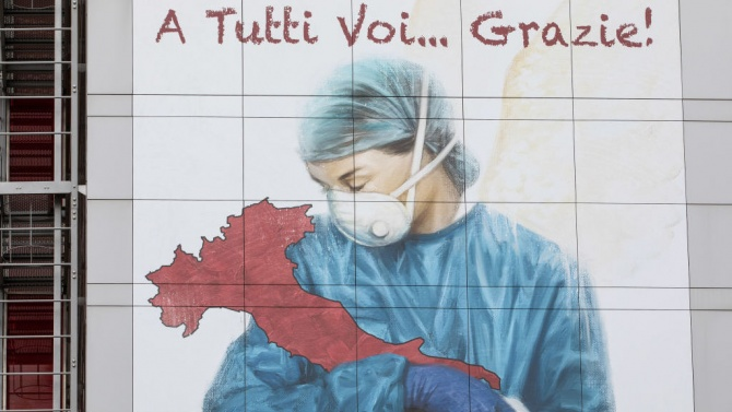 В Италия са установени 21 994 нови случая на коронавирус