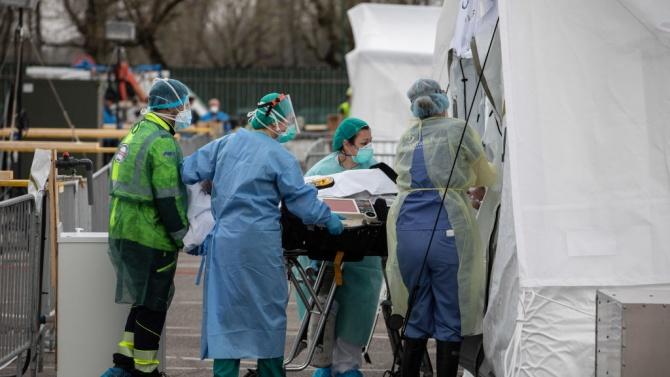 Броят на смъртните случаи сред болните от COVID-19 в Украйна