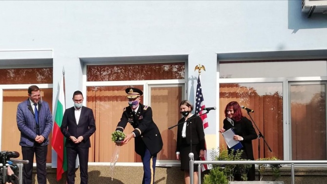 Американци обновиха детска градина в Хасково
