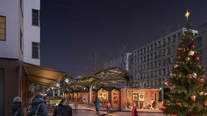 Коледният базар в София ще е на площад Славейков тази