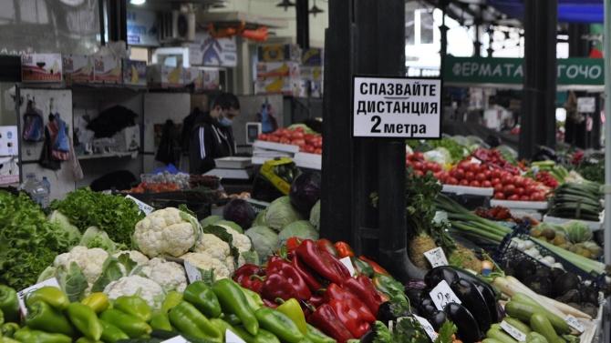 Бургаските пазари работят при специален режим в изпълнение на въведените