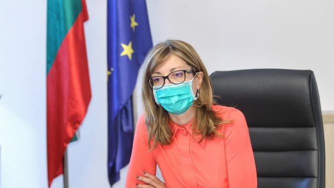 Вицепремиерът и министър на външните работи Екатерина Захариева Екатерина Захариева