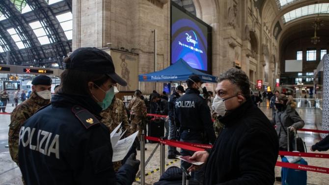 Италия регистрира 26 831 новозаразени с коронавирус за последните 24