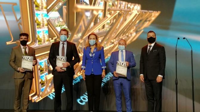 """Вицепремиерът Николова на церемонията """"Кмет на годината"""": Най-важното е хората да почувстват грижата на градоначалниците си"""