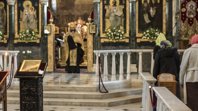 Във връзка с вчерашното нападение срещу гръцки православен свещеник в