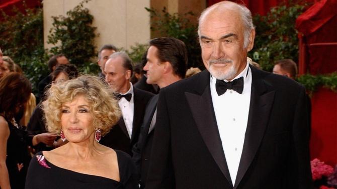 Вдовицата на актьора Шон Конъри, който почина на 90 години,