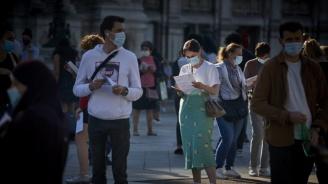 Франция регистрира над 26 хиляди нови случая на коронавирус за последното денонощие