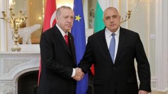 Президентът Ердоган към Бойко Борисов: Скъпи приятелю, бързо оздравяване!