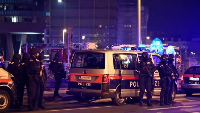 Терорът във Виена - трима убити и 14 ранени