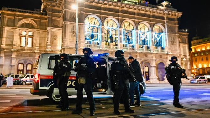 Полицията в Австрия с последна информация за стрелбата във Виена