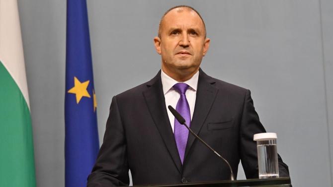 Румен Радев: България винаги е подкрепяла членство на Република Северна Македония в ЕС, но трябва да имаме ясни гаранции