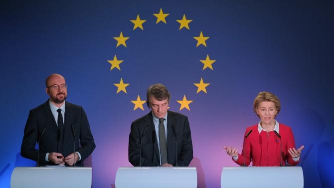 ЕС поздравява Байдън за избирането му за следващ президент на САЩ