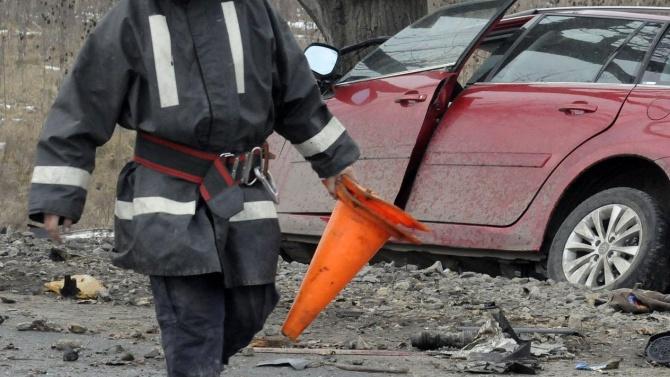 58-годишна жена пострада при катастрофа край Разград