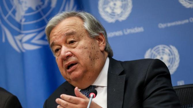 Генералният секретар на ООН поздрави Джо Байдън