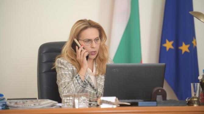 Николова разговаря с държавния секретар по туризъм, външна търговия и преки чуждестранни инвестиции на Румъния Разван Пържол