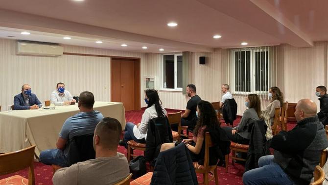 Цветан Цветанов и Павел Вълнев посетиха общините Ракитово и Велинград