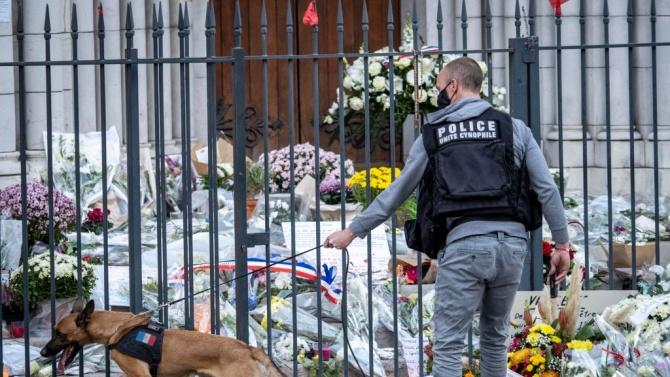 Снимка на ислямиста, убил френския учител Самюел Пати и аудиозапис,