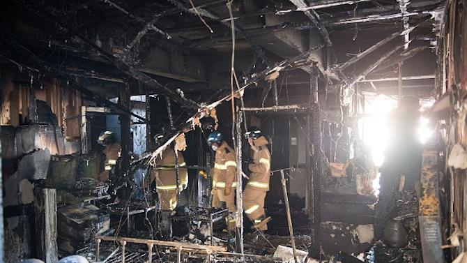 Десет жертви взе пожар в интензивно отделение за COVID-19 в Румъния